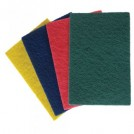 Colour Coded Scourer - 150mm x 230mm - available in 4 colours