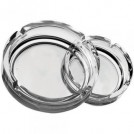 Clear Stackable Small Ashtray 4.25