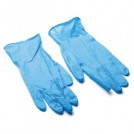 Powder Free Blue Latex Gloves - available in 3 sizes