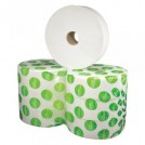 400m Jumbo Toilet Roll White Tissue (2 Ply) - available in 2 sizes