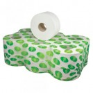 Mini Jumbo Toilet Roll White Tissue (2 Ply) - available in 4 sizes