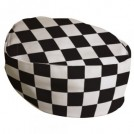 Black/White Big Check Beanie - available in 3 sizes