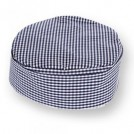 Gingham Skull Cap available in 3 sizes