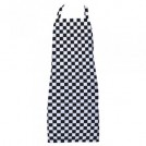 Checkerboard Bib Apron Black/White 38