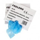 Disposable Polythene Gloves Blue - available in 2 sizes