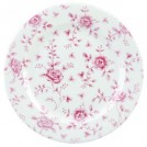 Vintage Prints Super Vitrified Cranberry Rose Chintz Plate available in Round & Oval