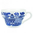 Vintage Prints Super Vitrified 19.8cl Georgian Teacup available in Plain & 4 Patterns