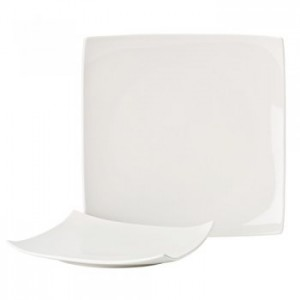 Pure White Square Plate 27.5cm