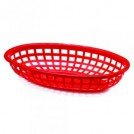 Classic Oval Plastic Basket available in 2 colours