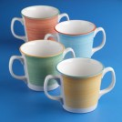 Freedom Rio Double Handed Mug 28.5cl/10oz available in 4 colours
