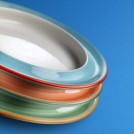 Freedom Rio Hospitality Plate available in 2 sizes & 4 colours