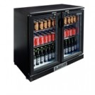 Apollo Double Hinged Door Bar Display Bottle Cooler