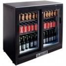 Apollo Double Sliding Door Bar Display Bottle Cooler