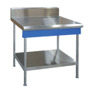 Blue Seal Evolution Series B90-LS - 900mm Profiled In-Fill Table - Leg Stand